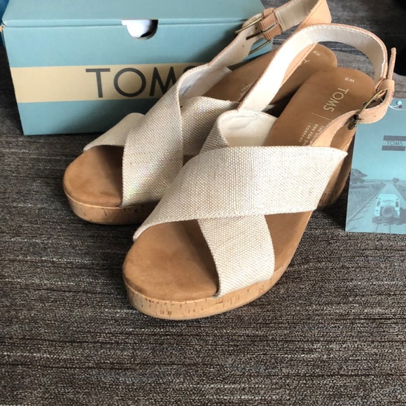 Toms Shoes | Nwt Toms Ibiza Sandals